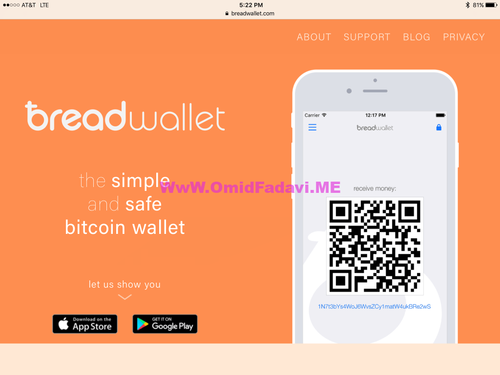 برد ولت Bread Wallet