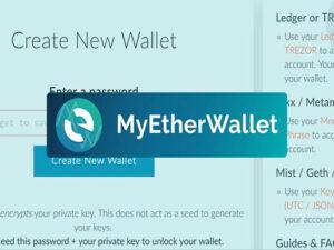 آموزش کیف پول MyEtherWallet به صورت گام به گام